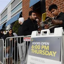 shoppers gobble up thanksgiving weekend deals nbc news