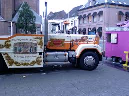 used mack trucks file mack truck used by circus in netherlands jpg wikimedia commons