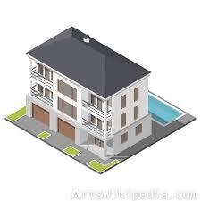 three story building isometric three story building