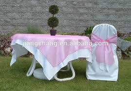 White Folding Chair Covers 100 Polyester Plain White Satin Folding Chair Cover Wedding Jc