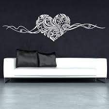 online get cheap personalised love wall decals aliexpress com g331 heart design love modern living room wall art personalise wall stickers creative decal muralfor bedroom