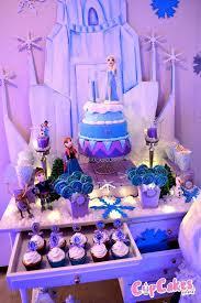 frozen themed birthday party ideas decor idea cake planning