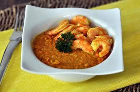 cuisiner des lentilles recette lentilles corail aux crevettes et curcuma