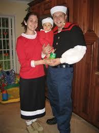 Popeye Olive Oyl Halloween Costumes Mommy U0027s Adventures Halloween Blast