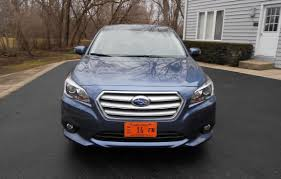 subaru crosstrek grill road test review 2016 subaru legacy 3 6r limited