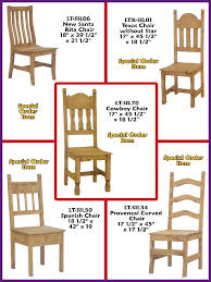 Mexican Chairs Sol De Mexico Mexican Imports Rustic Furniture Dining Tables