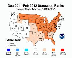 New Mexico Weather Map by The Winter That Wasn U0027t Checks In At Fourth Warmest Climate Central