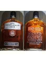 Gentleman Jack Gift Set Send Custom Engraved Bottles
