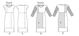 vogue patterns 1336 misses dress