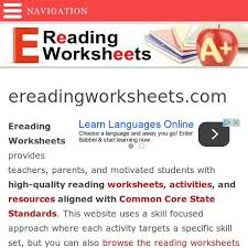 bunch ideas of e reading worksheets com in letter template