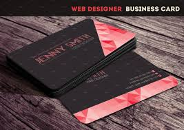 web designer business card business card templates creative market