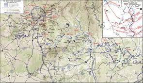 Germany Ww2 Map by The Ardennes Battle Of The Bulge Contents