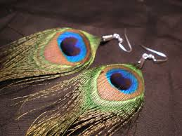 peacock earrings peacock earrings 3 steps