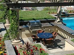 Cheap Backyard Patio Designs Cheap Outdoor Kitchen Ideas Hgtv