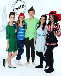 Peter Pan And Wendy Halloween Costumes by Nailed It Peter Pan Group Costume Dyalstyle Halloween Let U0027s