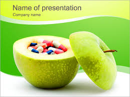 pills in the apple powerpoint template u0026 backgrounds id 0000002665