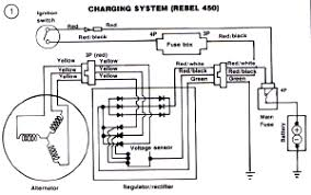 honda cb400 and cb450 wiring diagram and schematics