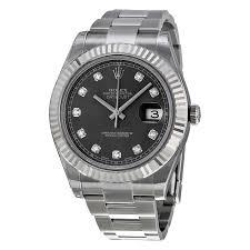 rolex steel oyster bracelet images Rolex datejust ii rhodium dial stainless steel oyster bracelet jpg