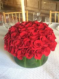 roses centerpieces centerpiece