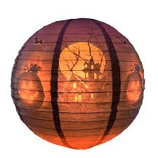 mesh jack u0027o lantern halloween string lights