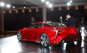 lexus lf lc blue concept lexus lf lc blue concept pictures auto express babaimage