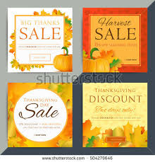 happy thanksgiving day poster template a4 stock vector 511400920