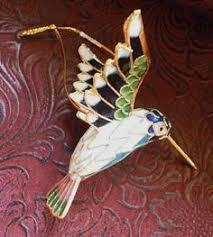 flying hummingbird ornaments set of 3 hummingbird ornament and
