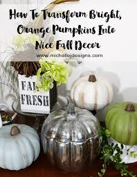 foam pumpkins how to transform foam pumpkins into pretty fall decor