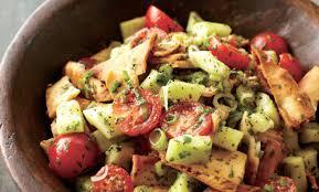 pita bread salad recipe relish