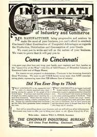 bureau commerce 1908 cincinnati industrial bureau commerce industry magazine ad