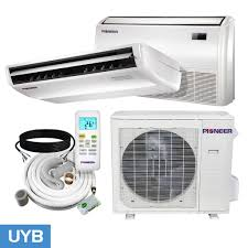 mitsubishi ductless ceiling mount floor ceiling low wall ductless mini split u2013 pioneerminisplit