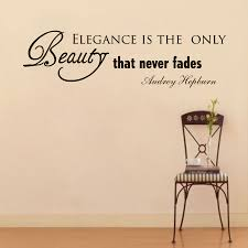 quotes elegance beauty wall decals quotes beauty color the walls of your house
