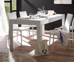 Esszimmer Tisch Deko Esstisch Hochglanz Weiss