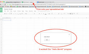 Make Spreadsheet Online Google Sheets Script Tutorial Beginner Guide To Coding With