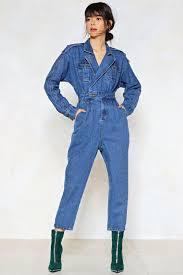 jumpsuit denim blue jean baby denim jumpsuit shop clothes at gal