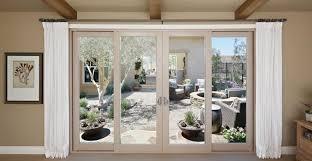 Vinyl Doors Exterior Montecito Series Vinyl Patio Doors Milgard Windows Doors