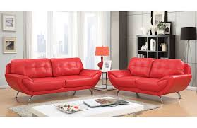 red leather sofa living room modern red leather sofa