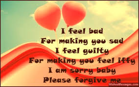 I Am Sorry Messages for Boyfriend  Apology Quotes for Him     Sms     Cute apology quote for him
