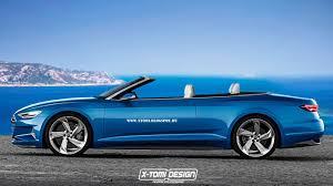 audi rs3 cabriolet audi prologue cabriolet rendered potential a9 drop top flagship