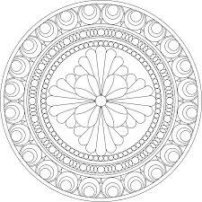 fantastic poinsettia mandala coloring pages with advanced mandala