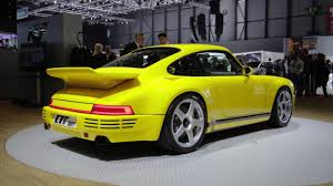 porsche ruf yellowbird ruf ctr u2013 the modern yellowbird 2017 geneva motor show youtube