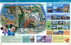 tokyo disney resort maps and story papers tokyo disneysea review