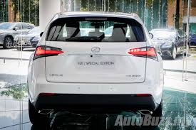 lexus nx interior trunk lexus nx 200t special edition launched all nx variants updated