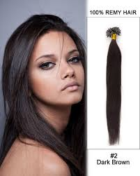 18 inch hair extensions 18 inch nail u tip remy hair extensions 2 brown