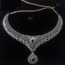 picture diamond necklace images Diamond necklaces khazana jewellery private limited retailer jpg