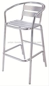 outdoor aluminium bar stool high chair sale buy bar stool high