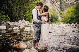 Wedding Venues In Utah Intimate Utah Mountain Wedding Ashton Jordan Green Wedding