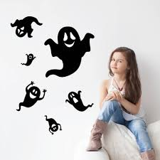 aliexpress com buy creative horro halloween ghost wall stickers