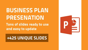 ja business plan powerpoint presentation template by sananik in