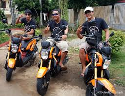 motorcycle philippines motorcycle rentals in alona beach panglao bohol